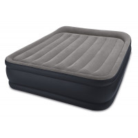 Colchón hinchable eléctrico Intex Rest Bed Deluxe Fiber-Tech 2 personas