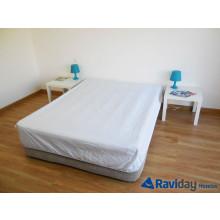 Sábana ajustable 2 personas para colchón hinchable