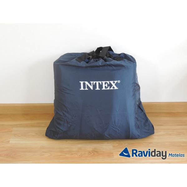 Cama hinchable Intex Foam Top Bed Fiber-Tech 2 personas