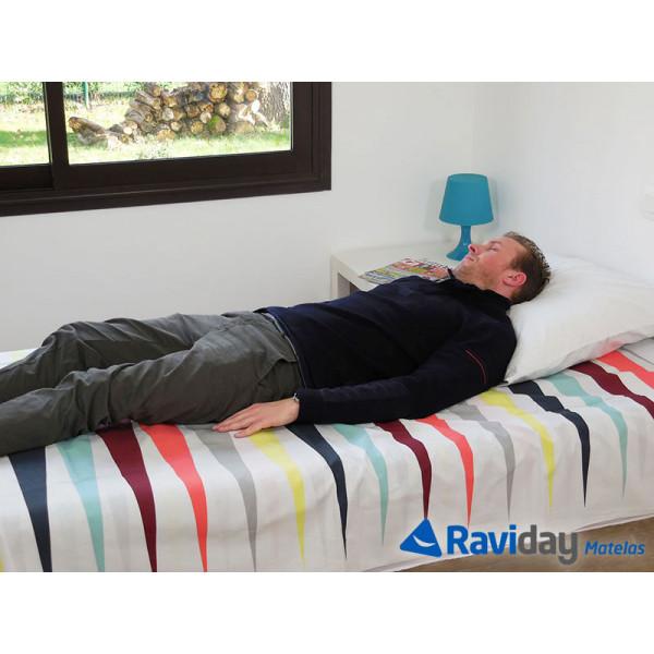 Colchón hinchable eléctrico Intex Ultra Plush Fiber-Tech 1 persona