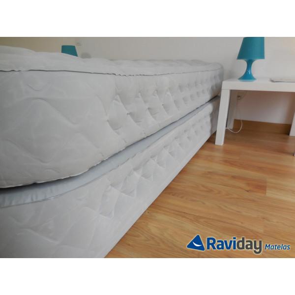 Colchón hinchable eléctrico Intex Supreme Bed Fiber-Tech 2 personas