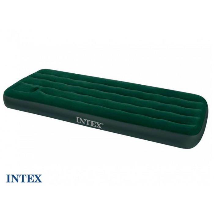 Colchón hinchable con bomba incorporada Downy Intex 1 persona